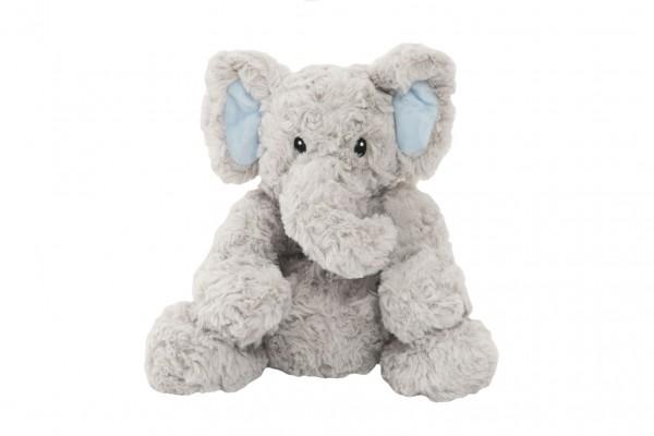 Slon sedící nahřívací plyš 23cm v sáčku