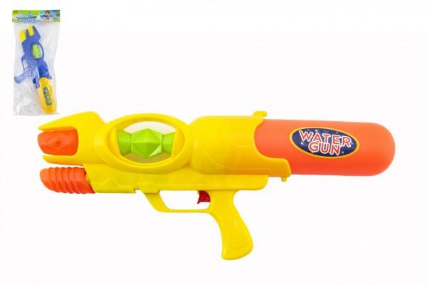 Vodní pistole plast 50cm 2 barvy v sáčku