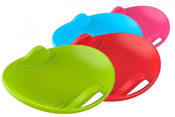 Sněžný talíř plast průměr 60cm mix barev