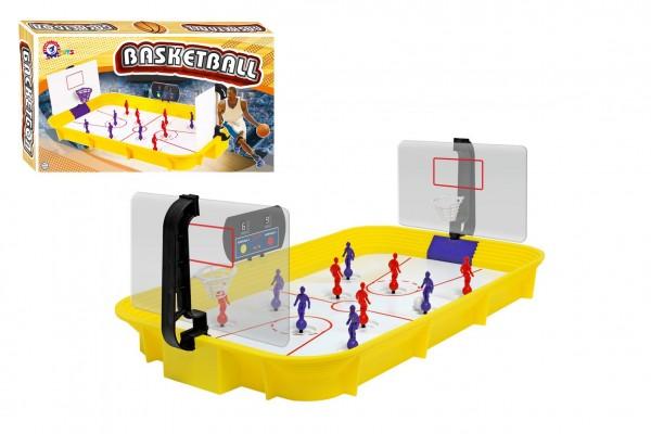 Košíková/Basketbal společenská hra plast v krabici 53x31x9cm