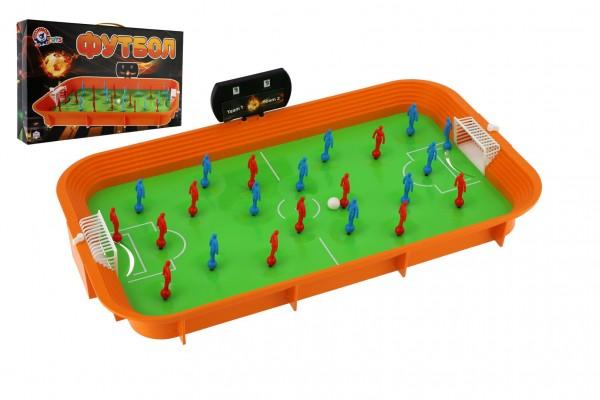 Kopaná/Fotbal společenská hra plast v krabici 53x31x9cm