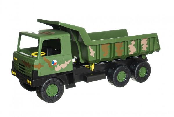 Auto Tatra 815 plast 75cm vojenská khaki maskovaná v krabici 75x34x27,5cm