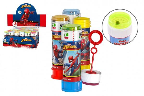 Bublifuk 60ml Spider-Man  11,5cm 4 barvy 36ks v boxu