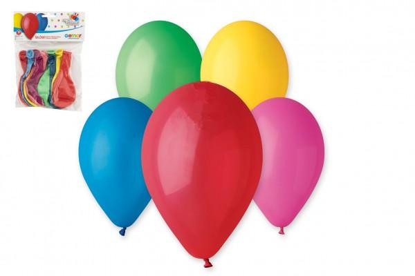 """Balonek/Balonky nafukovací 11"""" 12cm 10ks v sáčku karneval"""