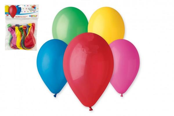 Balonek/Balonky nafukovací 10cm 15ks v sáčku karneval