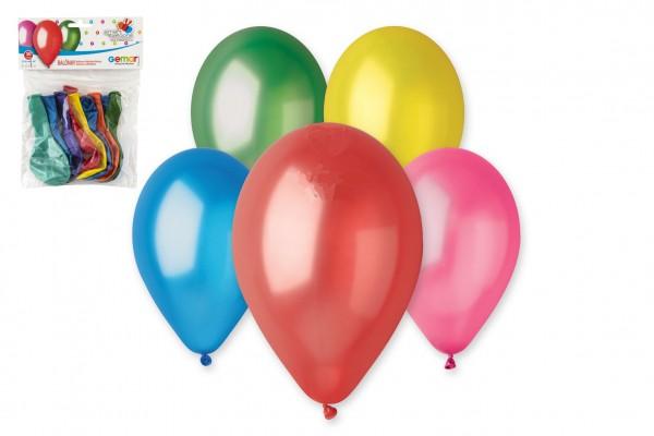 Balonek/Balonky nafukovací 10cm 10ks v sáčku karneval