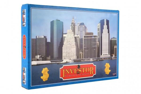 Investor verze SK společenská hra v krabici 42x29,5x6cm