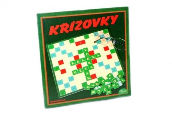 Křížovky verze SK společenská hra v krabici 22x23x2cm