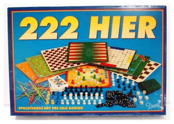 222 hier verze SK společenská hra v krabici 42x29,5x6cm