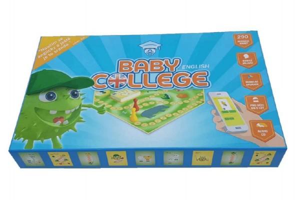 Baby College English stolní naučná hra s CD angličtina v krabici 35x22x5cm