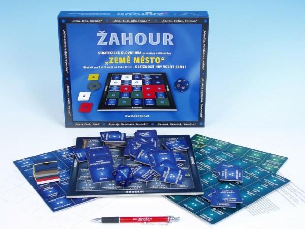 Žahour společenská hra v krabici 30x24x4cm