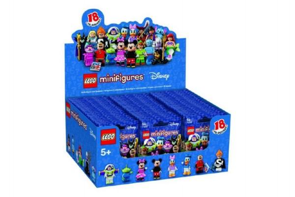LEGO® 71012 Minifigurky Disney série plast v sáčku 9x11cm 60ks v boxu