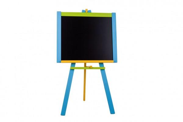 Tabule stojanová modrá sololit dřevěná 100x56cm v krabici 57x101x6,5cm