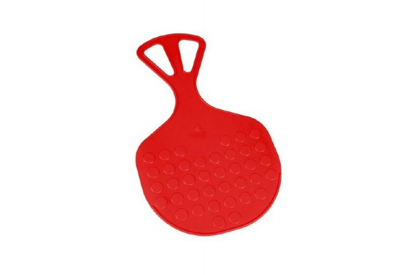 Kluzák Lopata Mrazík plast 58x35cm červený