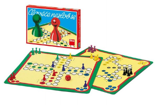 Člověče, nezlob se společenská hra v krabici 33x23x3,5cm