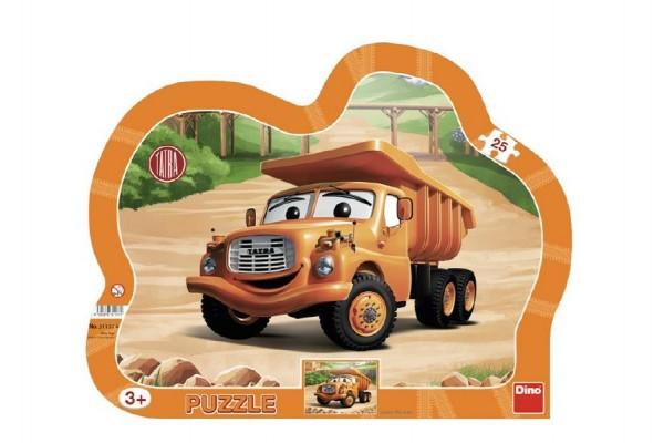 Puzzle deskové Tatra  36x28cm 25 dílků