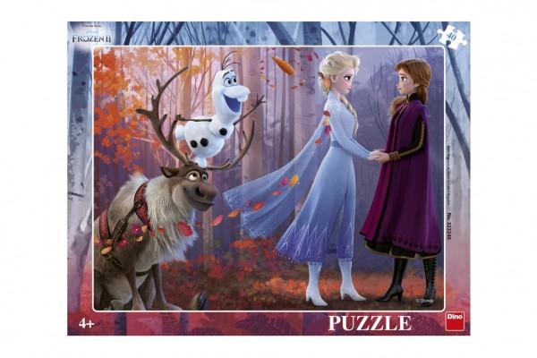 Puzzle deskové Ledové království II/Frozen II 37x29cm 40 dílků