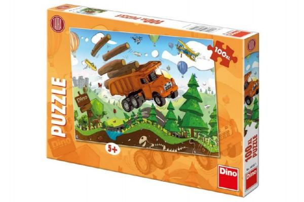 Puzzle Tatra na cestách 47x33cm 100XL dílků v krabici