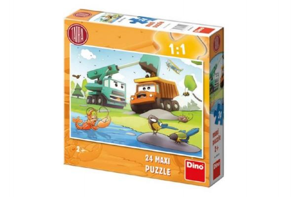 Puzzle  MAXI Tatra 66x47cm 24dílků v krabici 30x30x7cm