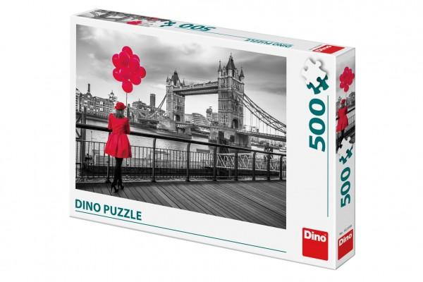 Puzzle Tower Bridge, Londýn 500 dílků 47x33cm v krabici 33,5x23x3,5cm