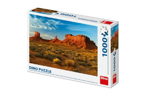 Puzzle Monument Valley, Arizona USA 66x47cm 1000 dílků v krabici 32x23x7,5cm