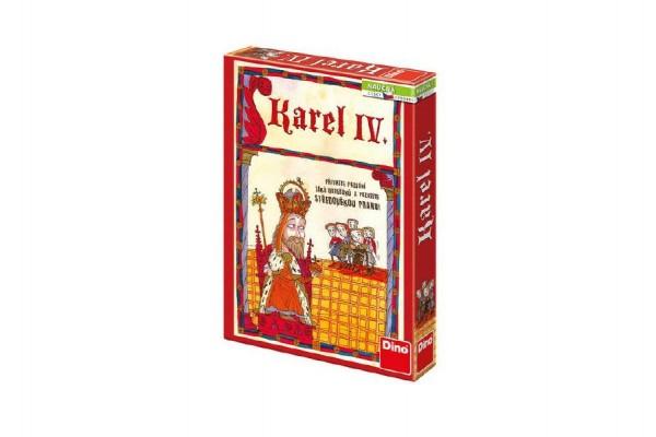 Karel IV. naučná stolní hra v krabici 19x27x4cm