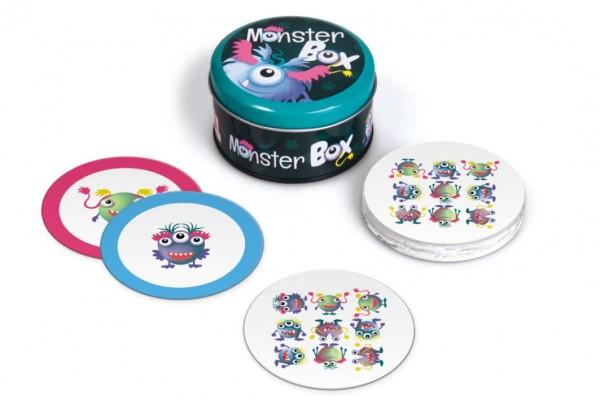 Monster box cestovní společenská hra v krabičce 13x13x8cm