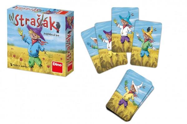 Strašák postřehová společenská hra v krabičce 13x13x4cm