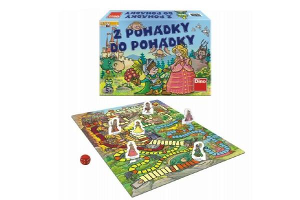 Z pohádky do pohádky nová společenská hra v krabici 29,5x20x6cm