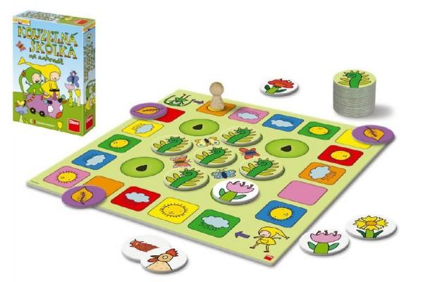 Kouzelná školka na zahradě společenská hra v krabici 20x29x6cm