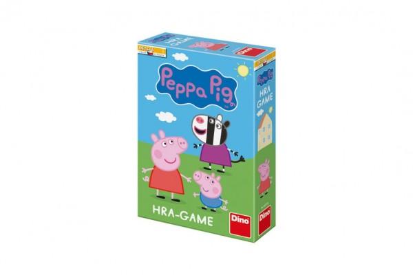 Prasátko Peppa stolní společenská hra v krabici 20x29x6cm