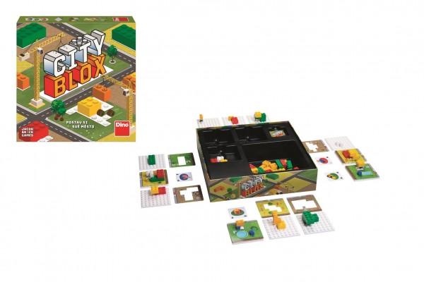 City blox - Postav si své město společenská hra v krabici 25x25x6cm