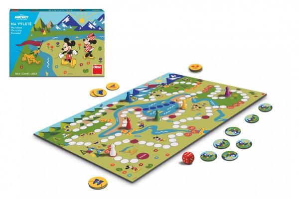 Na výletě Mickey a kamarádi společenská hra v krabici 34x23x4cm