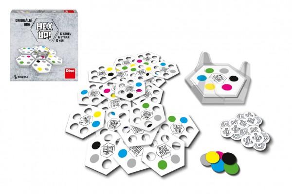 Hex up! společenská hra v krabici 20x20x5cm