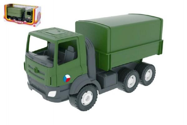 Auto Tatra 810 plast 30cm khaki vojenská v krabici