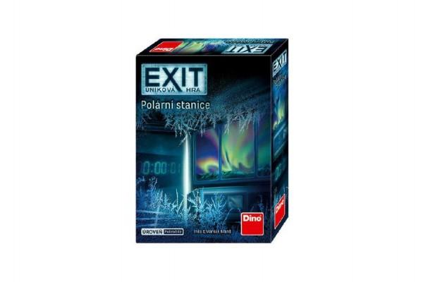 Úniková hra Exit: Polární stanice v krabici 13x18x4cm