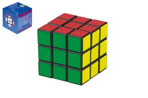 Rubikova kostka hlavolam originál 6x6x6cm v krabičce