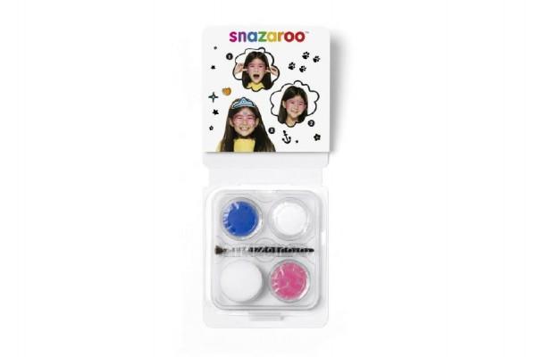 Sada obličejové barvy mini princezna v krabičce 10x13x2cm