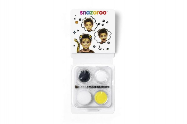 Sada obličejové barvy mini tygr v krabičce 10x13x2cm