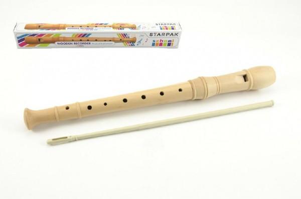 Flétna dřevo 31 cm