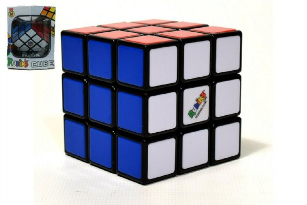 Rubikova kostka hlavolam plast 5x5x5cm v krabičce