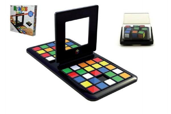 Rubikova kostka hlavolam společenská hra plast v krabici 27x27x5cm