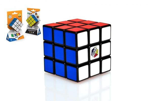 Rubikova kostka 3x3x3 hlavolam originál 6x6x6cm na kartě