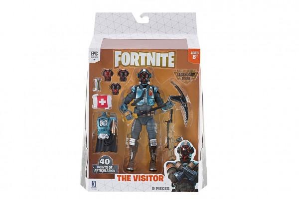 Fortnite figurka The Visitor plast 15cm s doplňky v krabičce 20,5x28x5,5cm 8+