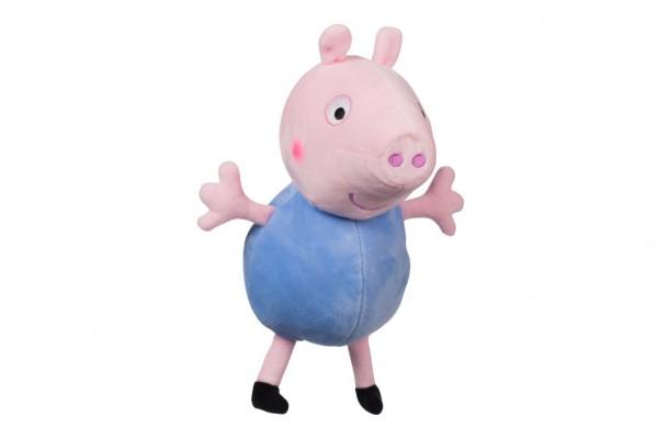 Prasátko Peppa plyš postavička George 35,5 cm modrý v sáčku 0m+