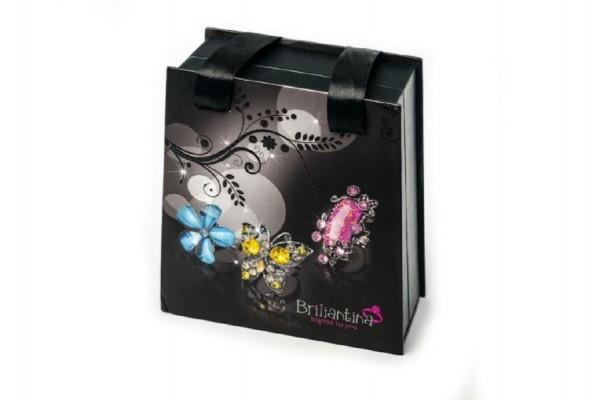 Šperkovnice Briliantina černá taška