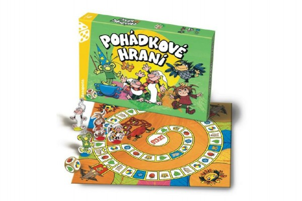 Pohádkové hraní Večerníček, Člověče, nezlob se společenská hra v krabici 35x23x4cm