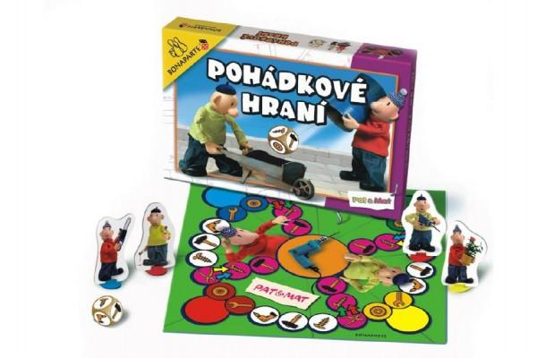 Pohádkové hraní Pat a Mat, Člověče, nezlob se společenská hra v krabici 34,5x23x4cm