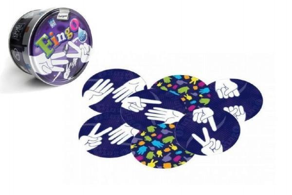 Fingo společenská hra v plechové krabičce 8x8cm STRAGOO