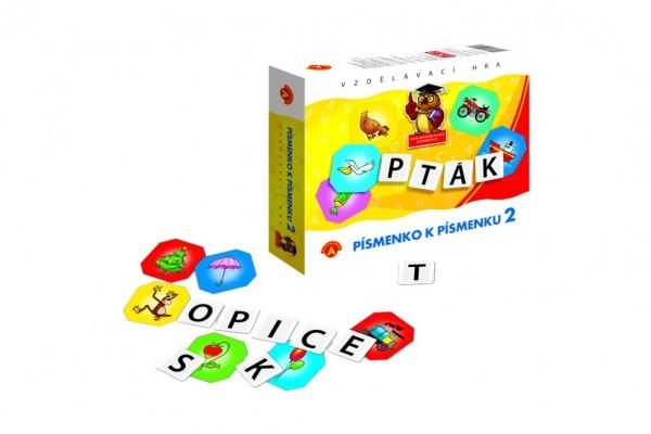 Písmenko k písmenku 2 společenská hra v krabici 24x20x5cm